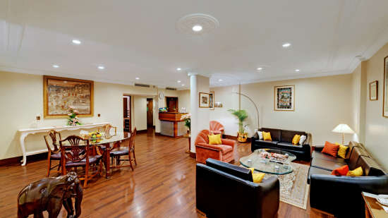 Presidential Suite at The Ambassador Hotel Mumbai - Luxury Hotel Rooms near Marine Drive
