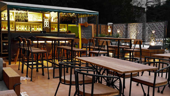 Kolkata Cafe Deck88 at The Astor by Rosakue Cafe in Park Street 2
