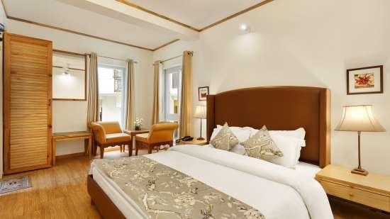 Bed Room 2 The Bungalows Pinewood Nainital