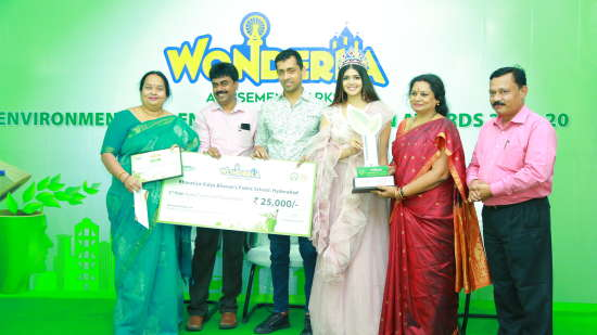 2nd Prize winner Bhavan s Public School Hyderabad shared the 2nd position and were awarded Rs. 25 000- each.