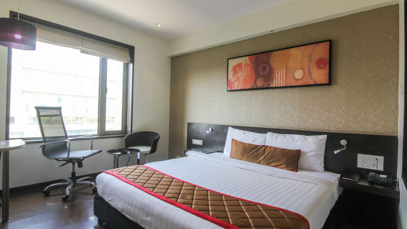 Spacious rooms in Pune, Best places to stay in Pune-8, Hotel Mint Lxia, Pune-12