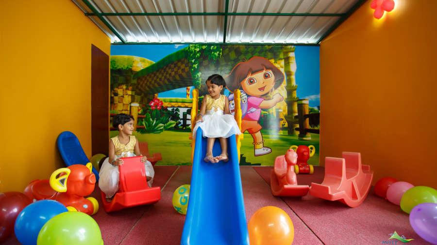Misty Mountain Resort, Munnar Munnar Childrens play area 2 Misty Mountain Resort Munnar 1