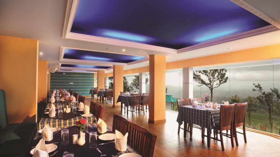 Misty Mountain Resort, Munnar Munnar Galaxy Restaurant Misty Mountain Resort Munnar 2