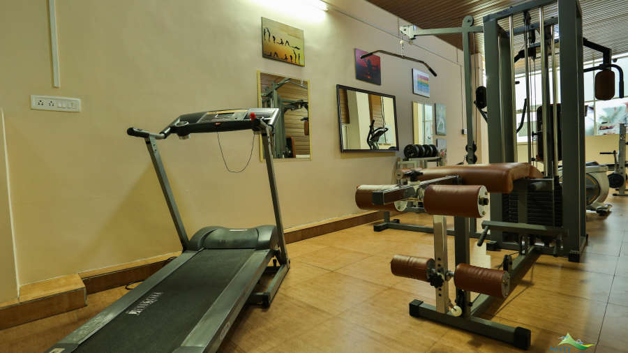 Misty Mountain Resort, Munnar Munnar Gym Misty Mountain Resort Munnar 1