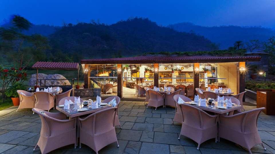 Restaurant- Aloha on the Ganges Rishikesh 2