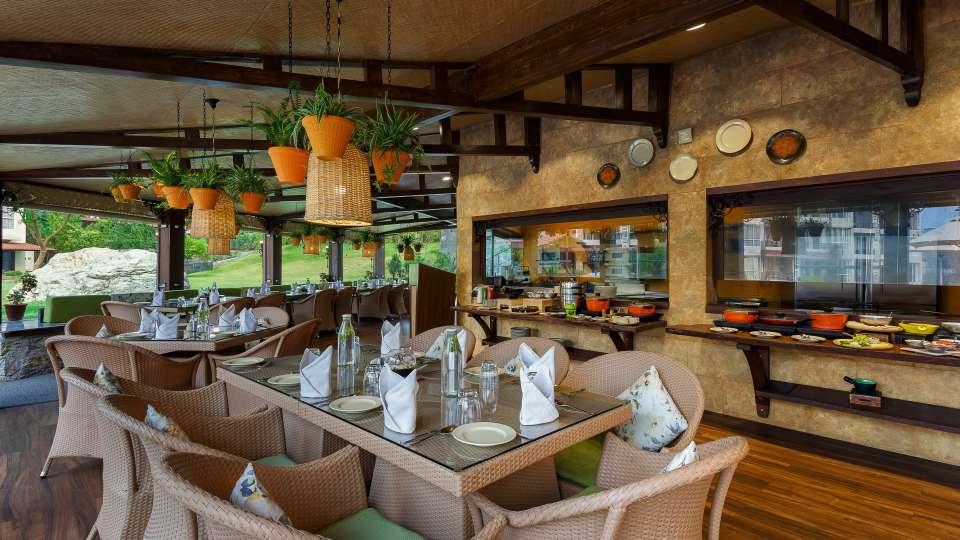 Restaurant- Aloha on the Ganges Rishikesh 4
