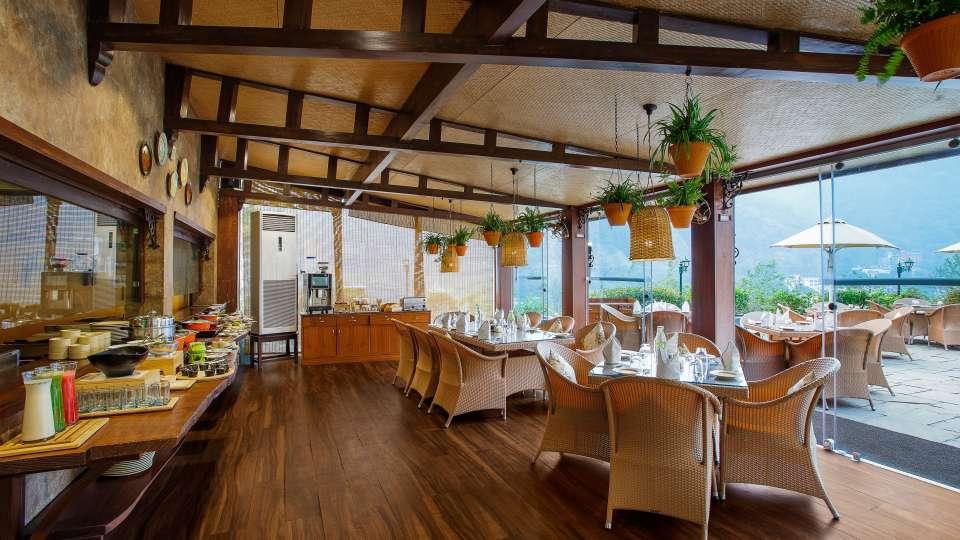 Restaurant- Aloha on the Ganges Rishikesh 5