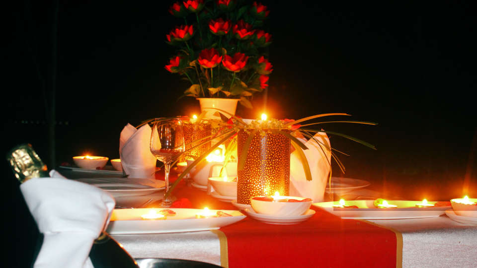 Candle Light dinner 1