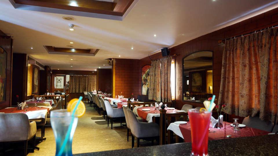 Restaurant at Hotel Daspalla Executive Court Vishakapatnam