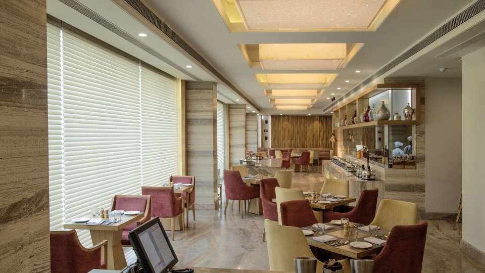 Fine dining at efcee sarovar portico hotels in bhavnagar
