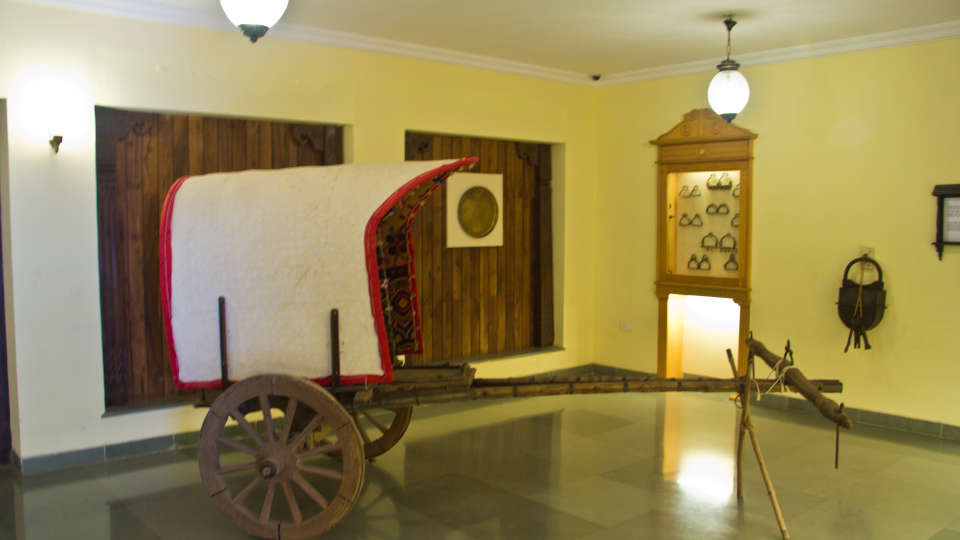 Aai Museum at Fort Jadhavgadh Heritage Resort Hotel Pune- resort near mumbai