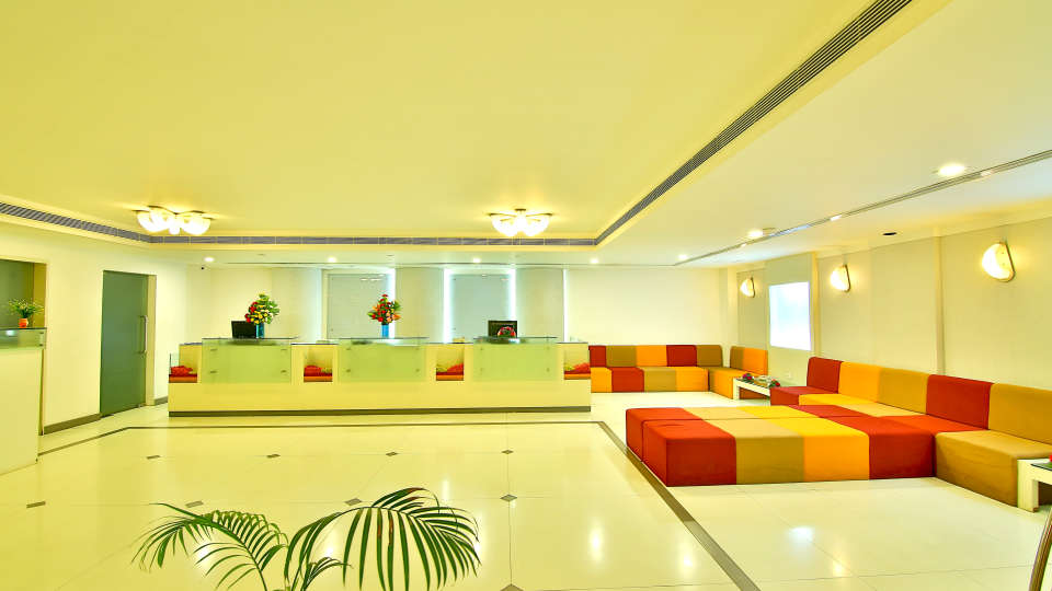 Lobby at gokulam park and convention centre cochin 2