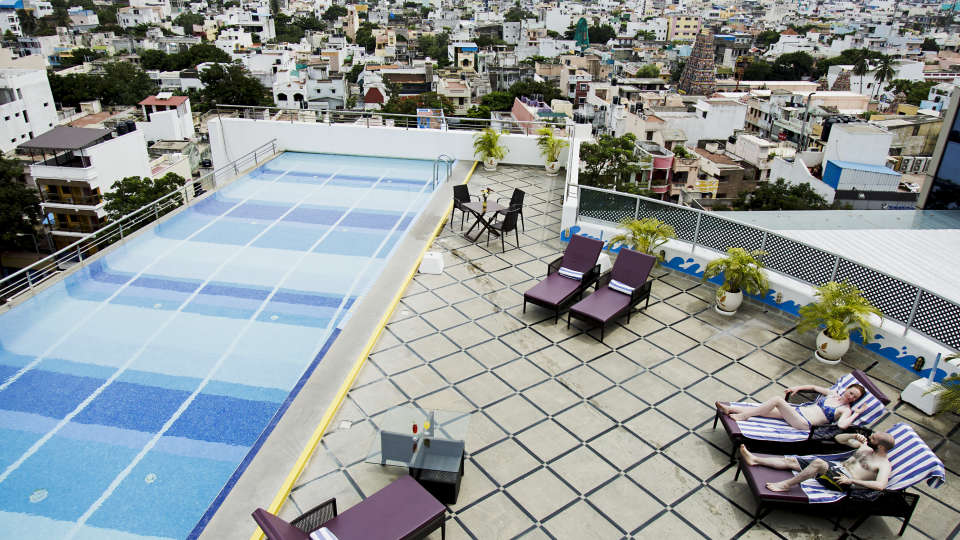 Hotel Atithi, Pondicherry Pondicherry Rooftop Pool Hotel Atithi Pondicherry
