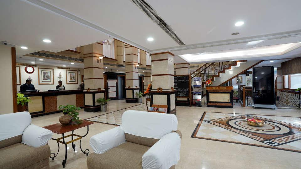 LOBBY at Hotel Daspalla Visakhapatnam