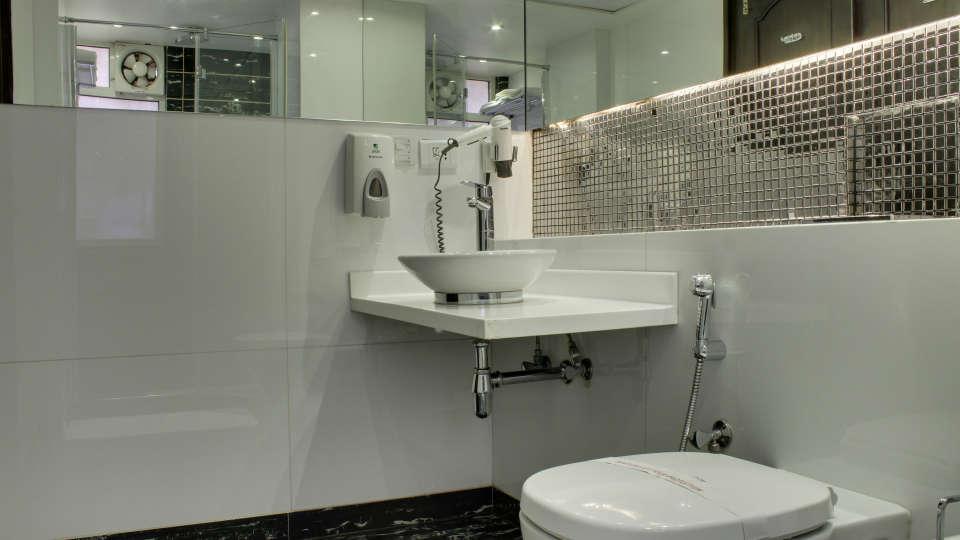 Washroom Grand Godwin New Delhi 4