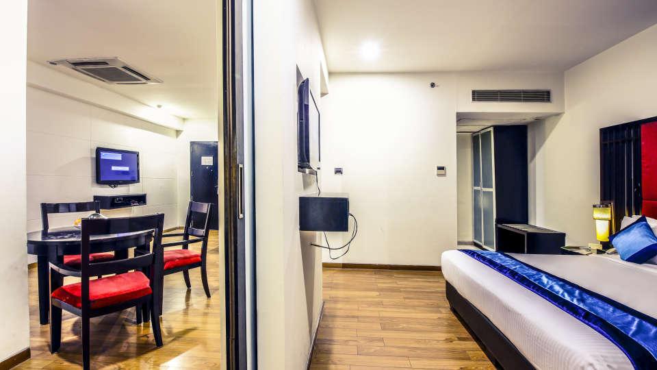 Deluxe Rooms in Banjara Hills, Hotel rooms in Banjara Hills, Hotel Mint Ebony