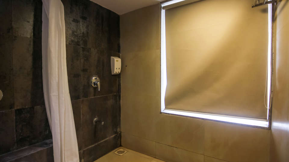 Private Bathrooms at our hotel in Pune, Hotel Mint Lxia, Pune-18