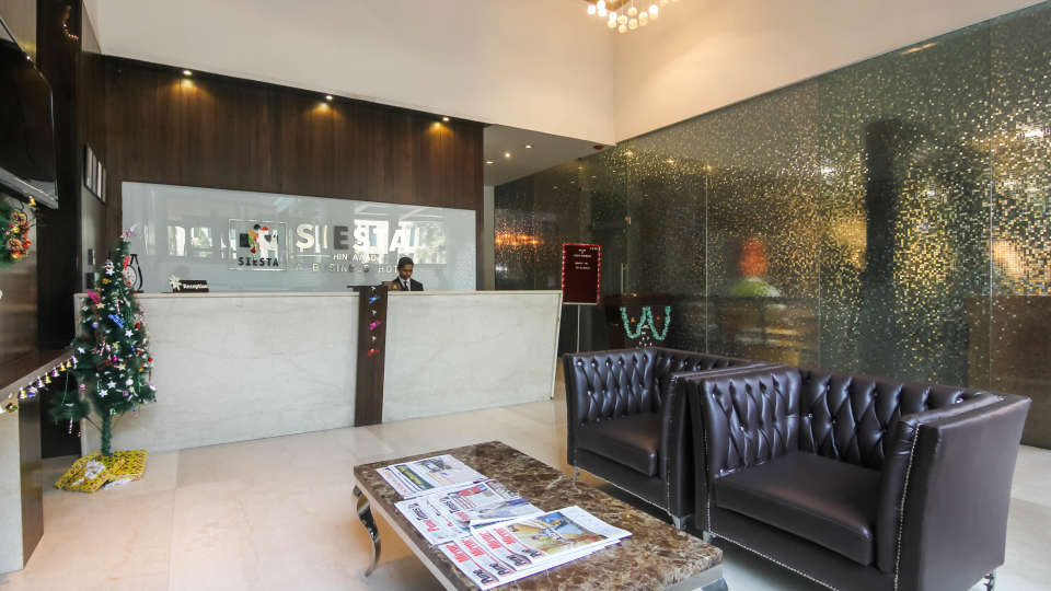 Reception area at Hotel Mint Lxia, Pune, Best Hotels in Pune
