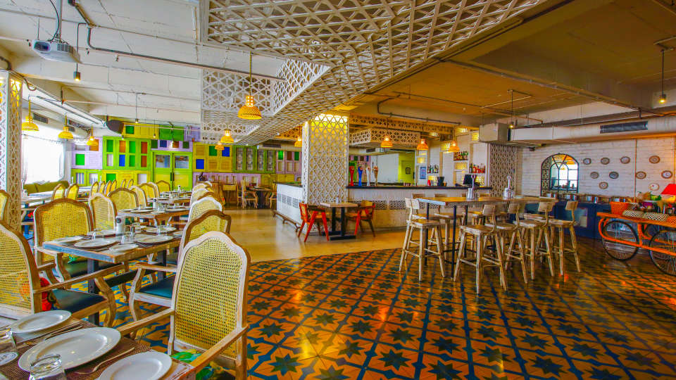 Over The Moon Restaurant Hotel Mint OTM Hyderabad 2