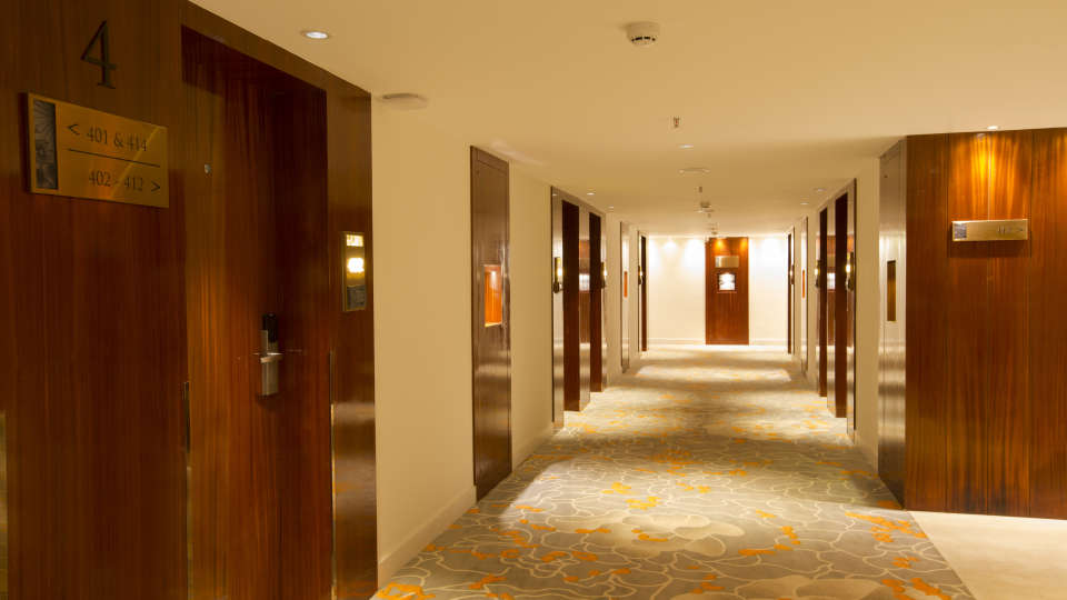 Corridor at Hotel Southend By TGI - Bommasandra Bangalore1
