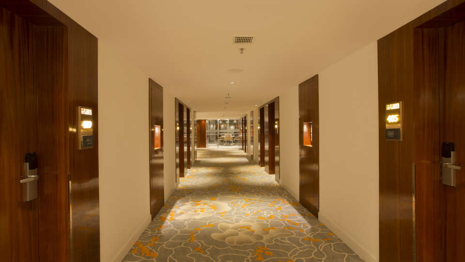 Corridor at Hotel Southend By TGI - Bommasandra Bangalore