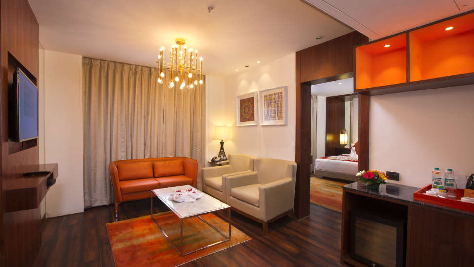 Living Room Suite at Hotel Southend By TGI - Bommasandra Bangalore1
