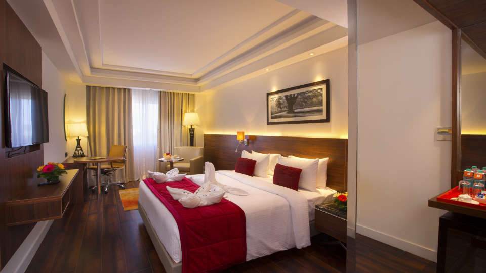 Premium Room at Hotel Southend By TGI - Bommasandra Bangalore4