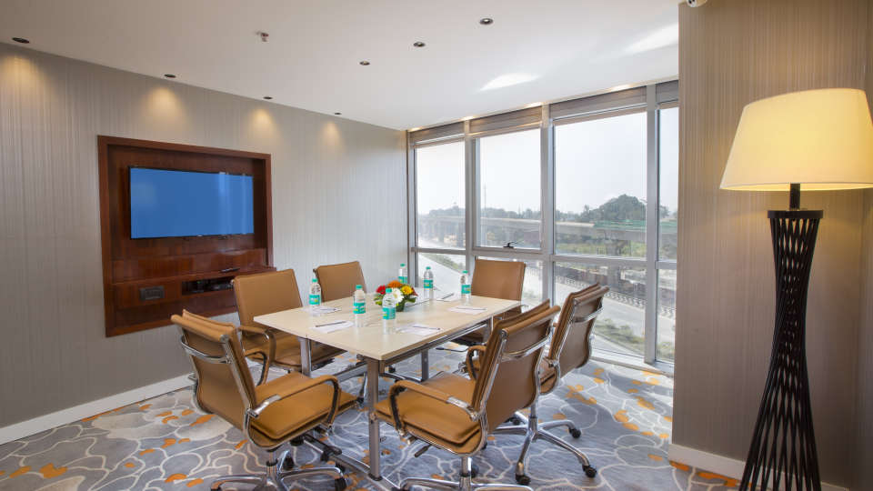 Skype calling room at Hotel Southend By TGI - Bommasandra Bangalore