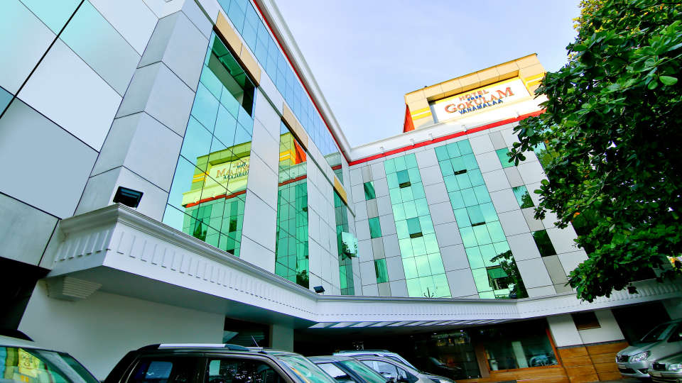 Entrance at Hotel Sree Gokulam Vanamala,Hotel in Kerala