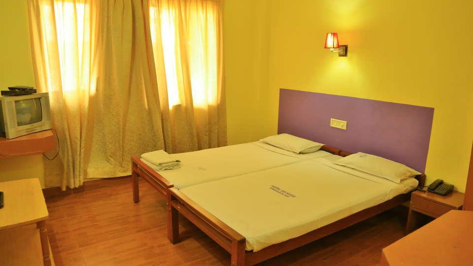 Hotel Srinivas, Kochi Cochin Single AC Room Hotel Srinivas Inn Kochi