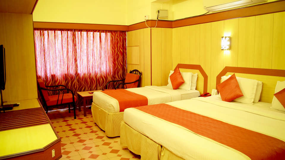 Hotel Rooms near Majestic, Hotel Swagath, Standard AC Rooms 2