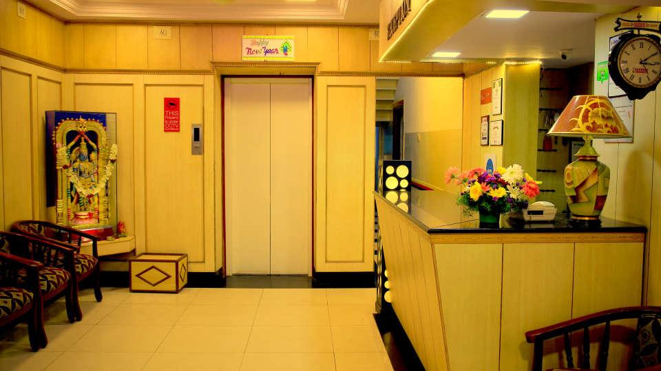Hotel Swagath, Bangalore Bangalore Reception Lobby Hotel Swagath Bangalore 3