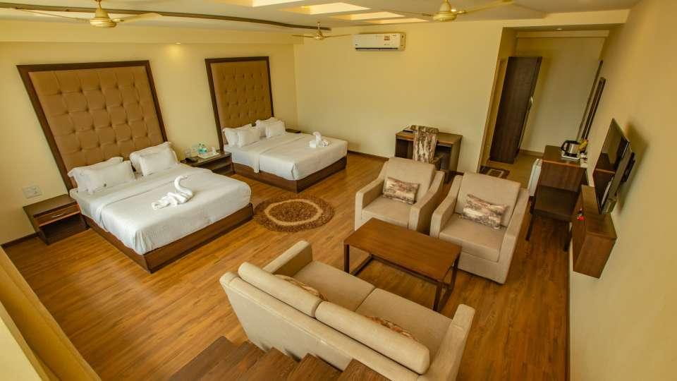 Family Suite at Hotel Vasundhara Palace Rishikesh 2