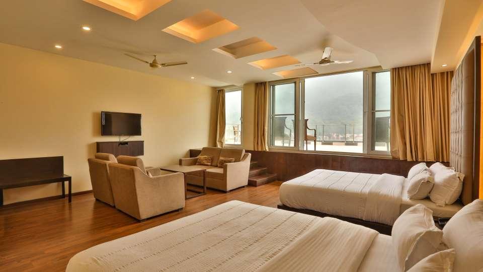 Family Suite at Hotel Vasundhara Palace Rishikesh 3