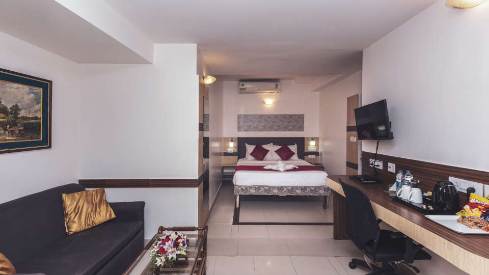 Hotel Rooms in Bangalore, iStay Hotels - Infantry Road, Deluxe Rooms 3