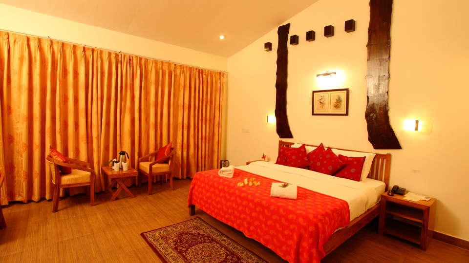 Garden facing Block at Infinity Resorts Corbett, Rooms in Uttarakhand 4