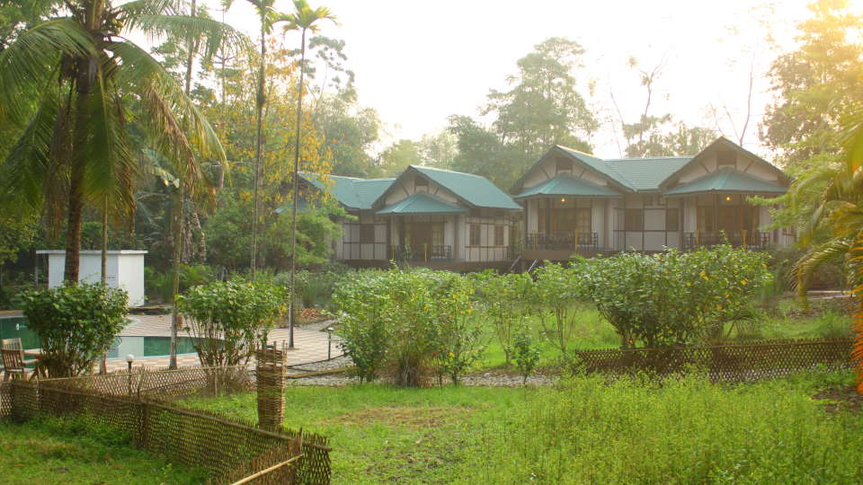Landscape of the Hotel at Infinity Resorts Kaziranga 2