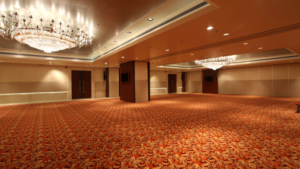 Banquet hall at Mahagun Sarovar Portico Vaishali, best hotel in vaishali 2