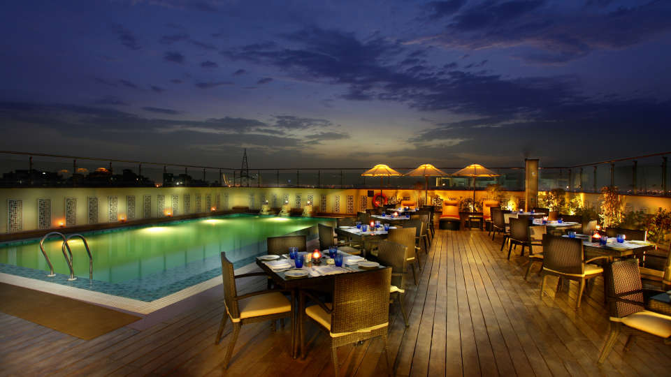 Terrace Grill at Mahagun Sarovar Portico Vaishali, restaurants in vaishali 3