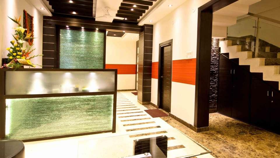 Lobby 3, Mango Hotels Prajwal, Rajajinagar Hotel