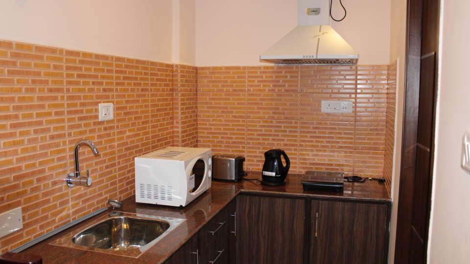 Maple Suites Serviced Apartments, Bangalore Bangalore Studio Kitchen 1 Maple Suites Serviced Apartments Bangalore