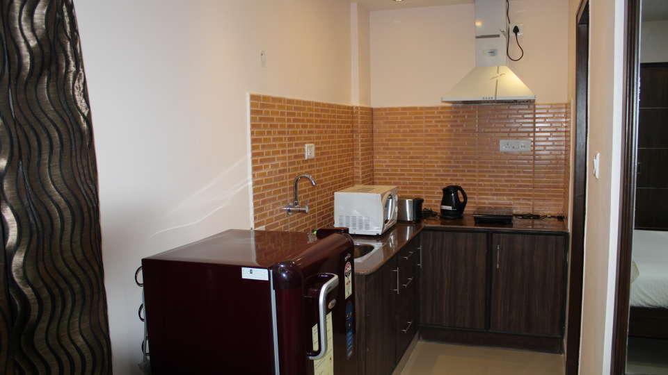 Maple Suites Serviced Apartments, Bangalore Bangalore Studio Kitchen Maple Suites Serviced Apartments Bangalore