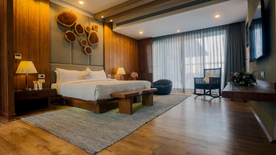 Master bedroom presidential suite