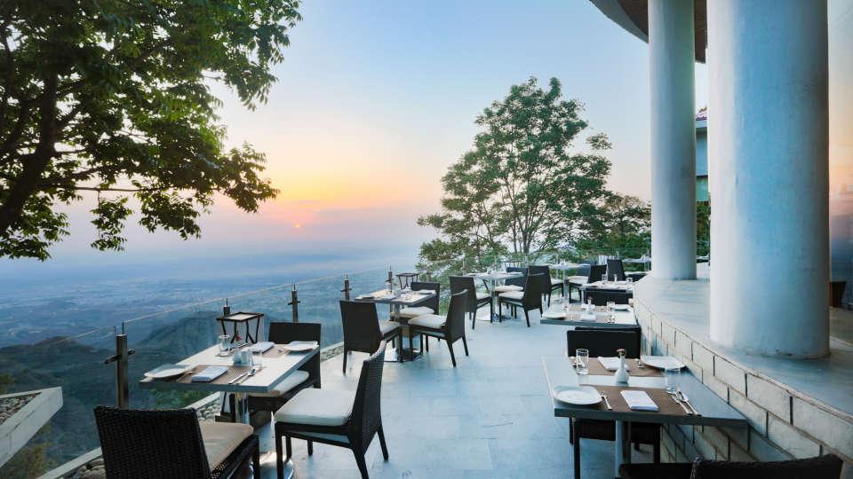 Moksha Restaurant Moksha Himalaya Spa Resort Parwanoo 11