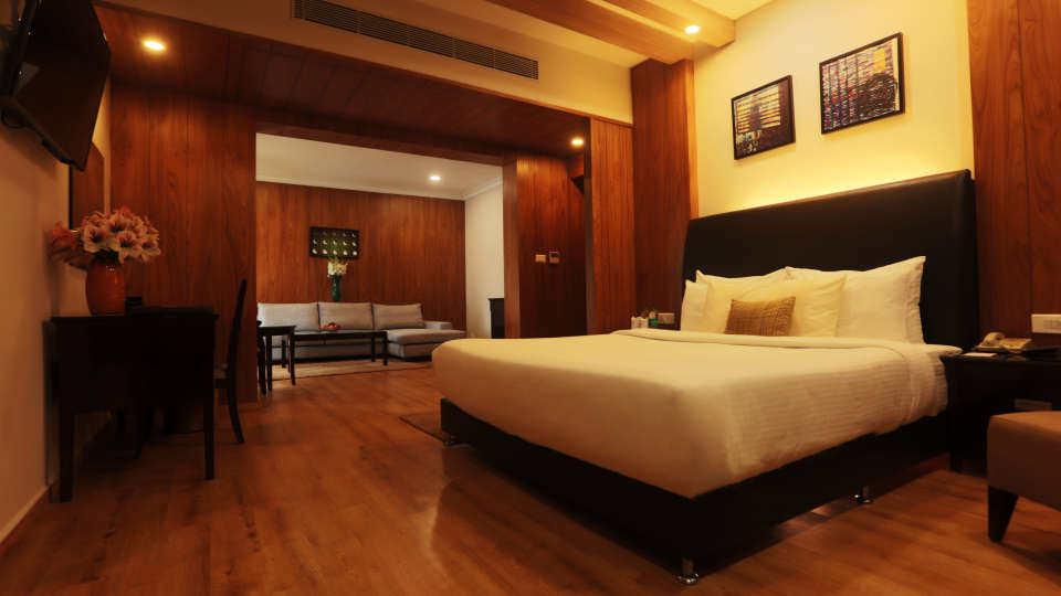 Moksha deluxe suite room Moksha Resort 1