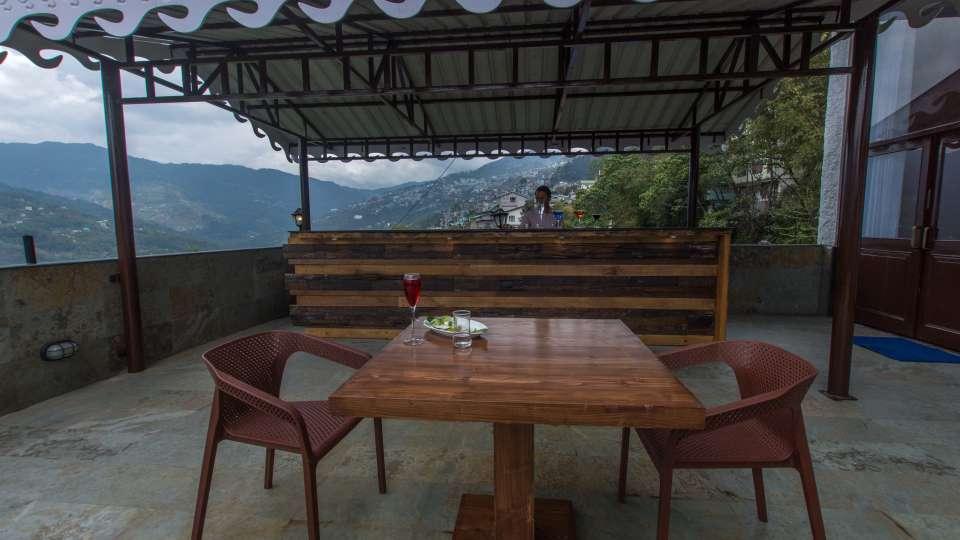 Bar at Mount Himalayan Hotel and spa 1