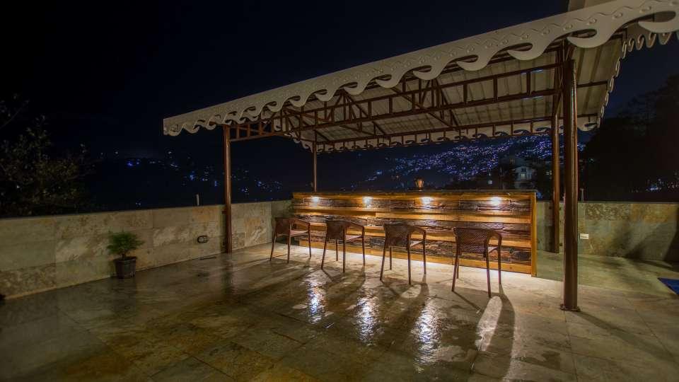 Bar at Mount Himalayan Hotel and spa 3