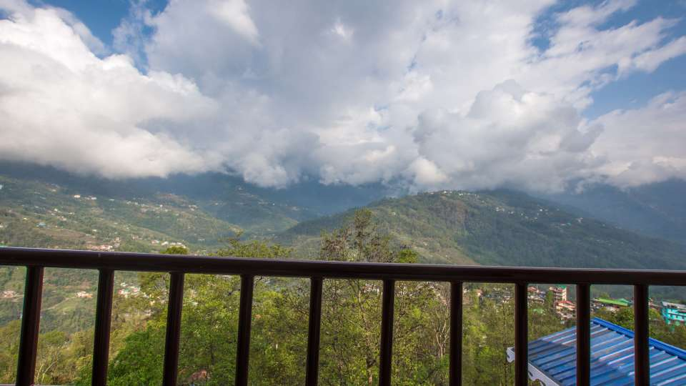 deluxe with balcony at Mount Himalayan Hotel and Spa 1