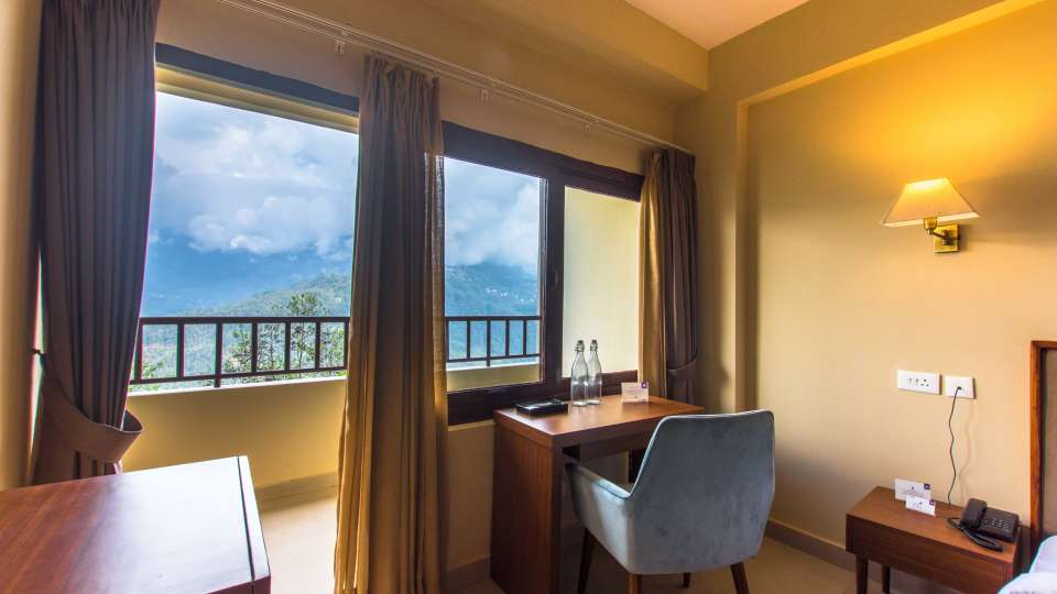 deluxe with balcony at Mount Himalayan Hotel and Spa 3