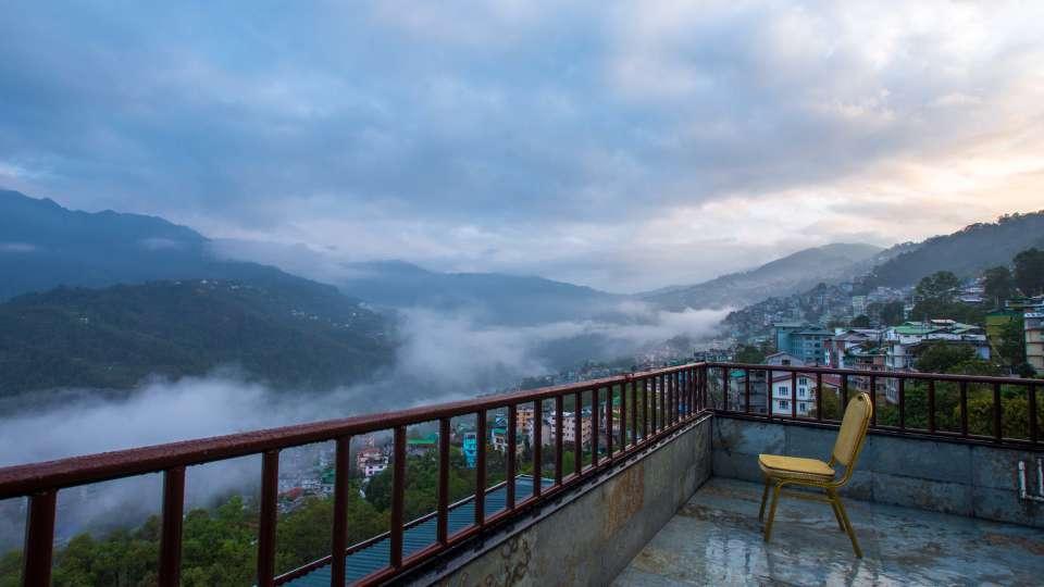 exterior at Mount Himalayan Hotel and spa 7
